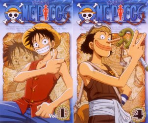 ONE PIECE TV版 Vol.1〜15
